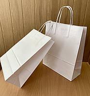 Крафт-пакет белый 250*100*300 мм