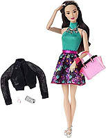 Кукла Барби Грейс Городской Гламур Barbie Style Glam Doll with Flower Skirt Dress