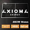 Солнечная батарея 400Вт моно, AXM144-9-158-400, 9BB, AXIOMA Energy