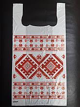 Пакет майка Украина- орнамент 30*58