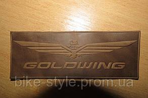 Кожаная нашивка Honda Goldwing