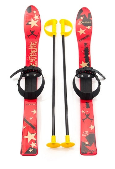 Детские лыжи Marmat 90 см. Разные цвета.