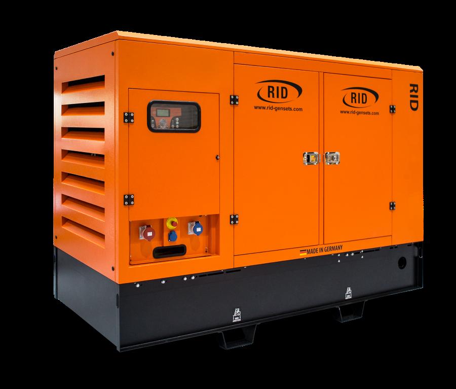 Трехфазный дизельный генератор RID 1000 G-SERIES (880 кВт)