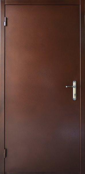 Нестандартные металлические наружные входные двери метал/ДСП на улицу (190 см.)
