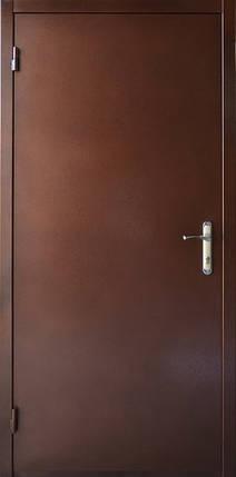 Нестандартные металлические наружные входные двери метал/ДСП на улицу (190 см.), фото 2