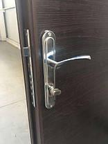 Нестандартные металлические наружные входные двери метал/ДСП на улицу (190 см.), фото 3