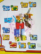 Трансботы БОЛЬШИЕ Transbot боевой расчет Трансформеры Цифры  мегаробот набор цифр трансформеров, цифроботы,, фото 3