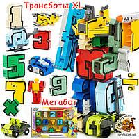 Трансформеры Transbot цифры и транспорт