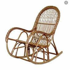 Крісло качалка КК-4/3 (Лоза) (з косою), фото 3