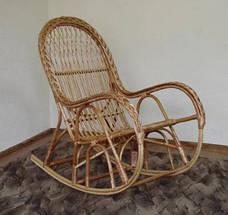 Крісло качалка КК-4/3 (Лоза) (з косою), фото 2