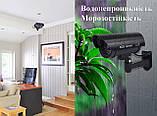 Муляж камеры видеонаблюдения с мигающим светодиодом, водонепронецаемый морозоустойчивый., фото 3
