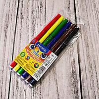 """Фломастеры """"Marco"""" №1690/6, 6 цветов, набор фломастеров для рисования на водной основе."""