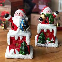 """Підсвічник новорічний """"Сніговик з дзвоником"""", Новогодний подсвечник """"Снеговик с колокольчиком"""" 147"""