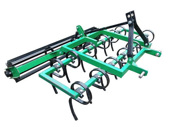 Культиватор пружинный для минитрактора 1.4 м, фото 2