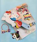 Набор детских аксессуаров заколки и расческа для девочек младшего возраста Хелоу Китти, фото 3