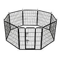 Металлический манеж для щенков Dog Land вольер для собак и щенков, секция 80*80 см (без порога)