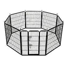 Металлический манеж для щенков Dog Land вольер для собак и щенков, секция 80*80 см