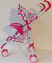 Игрушечная коляска Melogo для кукол пупсов 5828, фото 3