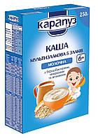 Каша мультизлаковая молочная 5 злаков Карапуз  с 6 месяцев 250 гр