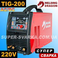 Аргоновая сварка Welding Dragon Digi TIG 200 AC/DC MIX