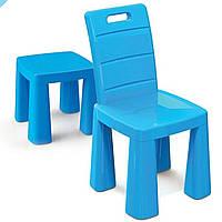 Пластиковый стульчик для детей ТМ Doloni 2в1, стул-табурет