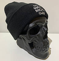 Шапка мужская Anti Social Club - ❄️ Winter ❄️ Black/White, фото 1