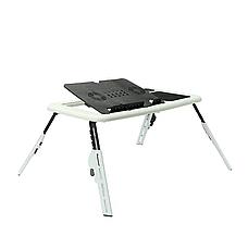 Столик-подставка для ноутбука E-Table с охлаждением и регулировкой наклона и высоты, фото 2