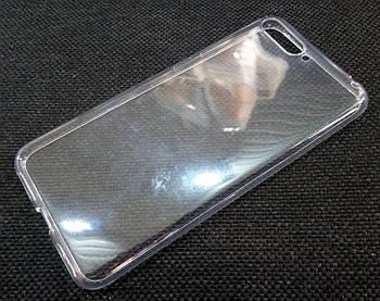Чехол для Huawei Y6 (2018) силиконовый прозрачный