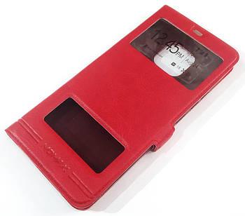 Чехол книжка с окошками momax для Huawei Mate 20 Pro Красный