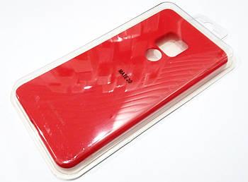 Чехол для Huawei Mate 20 силиконовый Molan Cano Jelly Case матовый красный