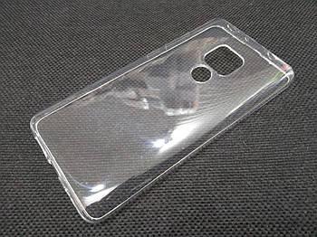 Чехол для Huawei Mate 20 силиконовый прозрачный