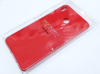Чехол для Huawei Honor 8X Max силиконовый Molan Cano Jelly Case матовый красный
