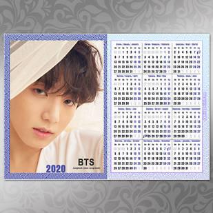 Плакат Календарь BTS 015