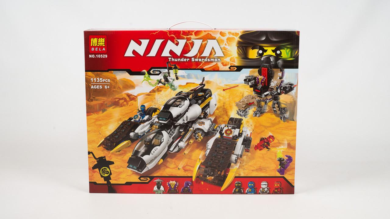 Конструктор Bela.10529. Ninja. 1135 деталей