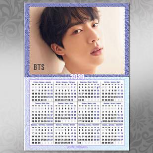 Плакат Календарь BTS 020