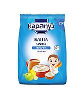 Каша молочная манная с фруктами Карапуз  с 5 месяцев 250 гр мяг.упаковка