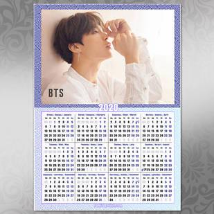 Плакат Календарь BTS 027