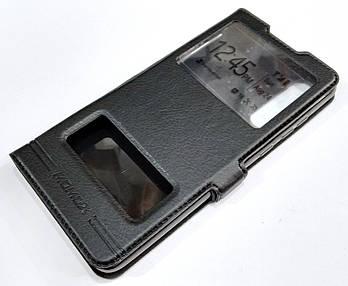 Чехол книжка с окошками momax для Huawei P30