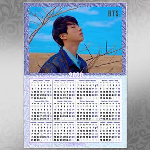 Плакат Календарь BTS 038