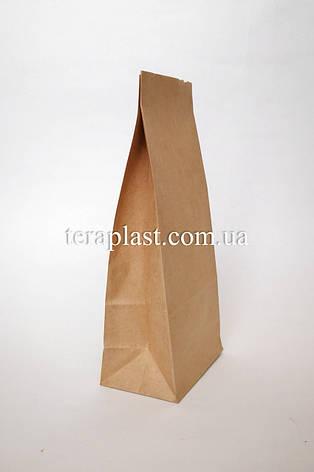 Крафт пакет с дном 90х60х200 (бурый), фото 2