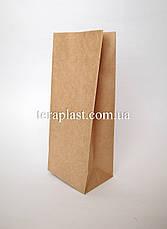 Крафт пакет с дном 90х60х200 (бурый), фото 3