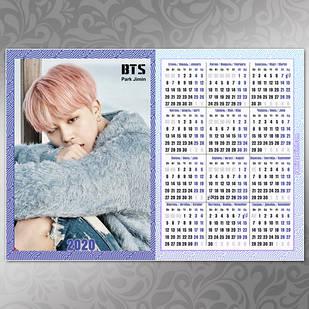 Плакат Календарь BTS 045