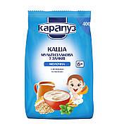 Каша молочная мультизлаковая молочная 7 злаков с витаминами и мелиссой с 6 мес Капапуз 400 гр
