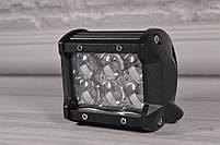 Автофара LED на крышу (6 LED) 5D-18W-SPOT+ПОДАРОК!, фото 4