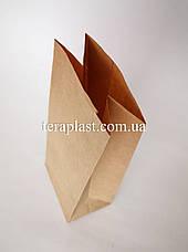 Пакет бурый крафт с дном 110х60х270, фото 3