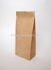 Пакет бурый крафт с дном 130х80х310, фото 2