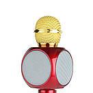 Беспроводной караоке микрофон WSTER WS-1816 красный, фото 3