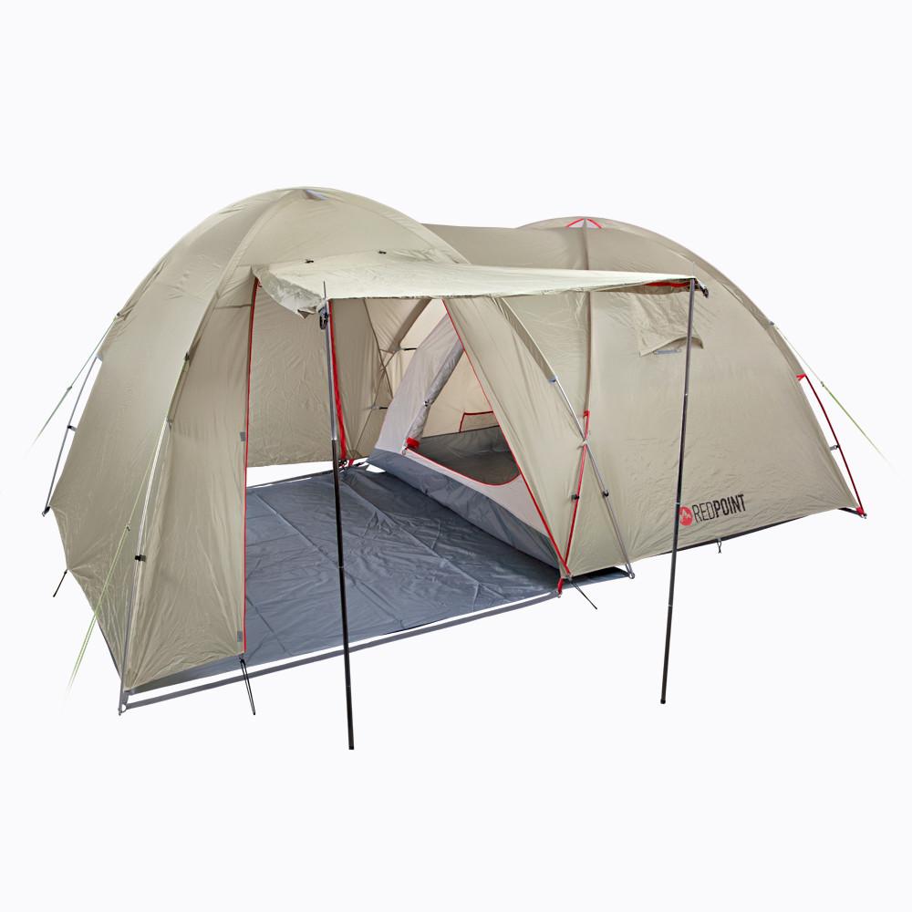 Палатка 4-местная RED POINT Base 4 (4820152611420)