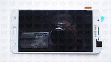 Дисплей з сенсором Samsung J710 Galaxy J7 White оригінал, GH97-18855C, фото 2