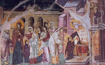 4 декабря - Православная Церковь празднует Введение во храм Пресвятой Богородицы